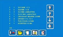 Rondostar ECO dotyková obrazovka